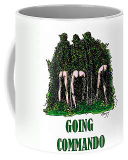 Going Commando Coffee Mug