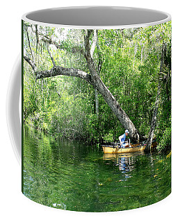 Golden Canoe Launch Coffee Mug