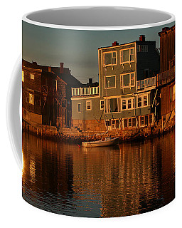 Coffee Mug featuring the photograph Golden Evening by Adrian LaRoque