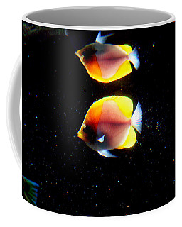 Golden Fish Reflection Coffee Mug