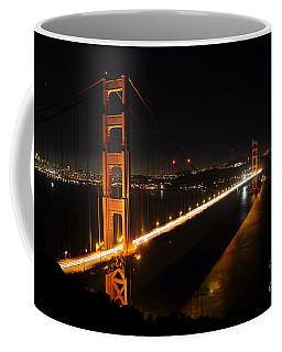 Coffee Mug featuring the photograph Golden Gate Bridge 2 by Vivian Christopher