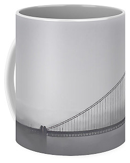 Coffee Mug featuring the photograph Golden Gate Morning by Don Schwartz
