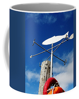 Coffee Mug featuring the photograph Gone Fishing by Charlie and Norma Brock