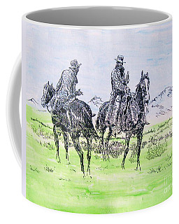 Coffee Mug featuring the painting Good Medicine by Roberto Prusso
