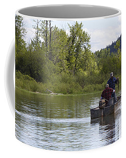 Coffee Mug featuring the photograph Gotcha by Nina Prommer
