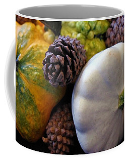 Coffee Mug featuring the photograph Gourds 6 by Deniece Platt