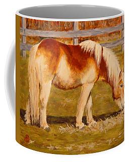 Coffee Mug featuring the painting Grahm by Joe Bergholm