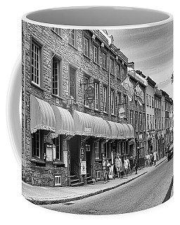 Coffee Mug featuring the photograph Grande Allee by Eunice Gibb