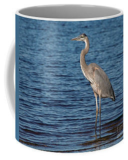 Coffee Mug featuring the photograph Great Blue Heron by Art Whitton