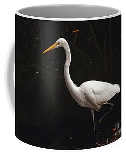 Great Egret Hunting Coffee Mug