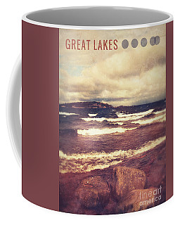 Coffee Mug featuring the photograph Great Lakes by Phil Perkins