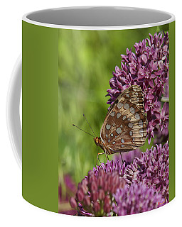 Great Spangled Fritillary Din194 Coffee Mug