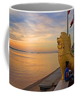 Greeting The Dawn. Coffee Mug
