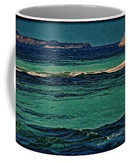 Coffee Mug featuring the photograph Grenadines Umbrella by Don Schwartz