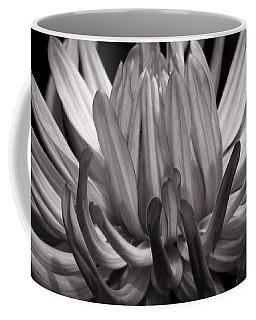 Grey Dahlia Coffee Mug