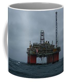 Grey Day At Snorre Coffee Mug