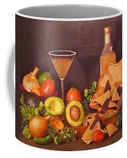 Coffee Mug featuring the painting Guacamole by Joe Bergholm