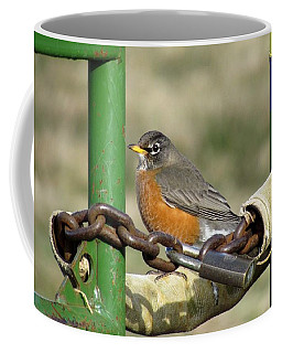 Coffee Mug featuring the photograph Guardian Of The Gate by I'ina Van Lawick