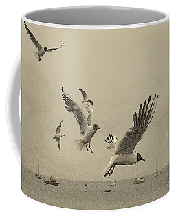 Gulls Coffee Mug by Linsey Williams