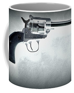 Coffee Mug featuring the photograph Guns And Leather 3 by Deniece Platt