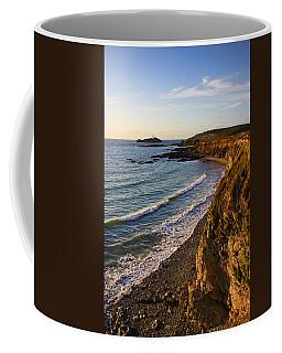 Gwithian Beach Coffee Mug by Ken Brannen