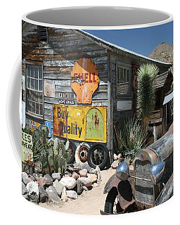Hackberry Signs   Arizona Route 66 Coffee Mug