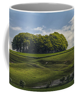 Coffee Mug featuring the photograph Hackpen Hill by Clare Bambers