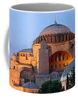 Hagia Sophia At Dusk Coffee Mug