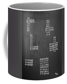 Hamlet - Binary Painting By Marianna Mills Coffee Mug