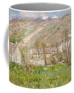 Hamlet On The Cliffs Near Giverny Coffee Mug