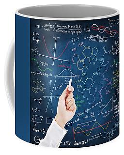 Hand Writing Science Formulas Coffee Mug