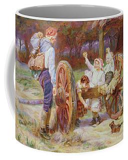 Happy As The Days Are Long Coffee Mug