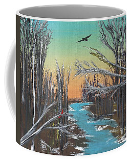 Coffee Mug featuring the painting Happy Day by Alys Caviness-Gober
