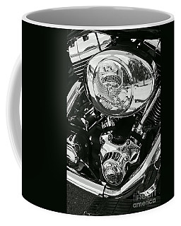 Harley Davidson Bike - Chrome Parts 02 Coffee Mug by Aimelle