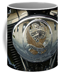 Harley Davidson Bike - Chrome Parts 44c Coffee Mug