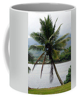 Coffee Mug featuring the photograph Hawaiian Palm by Athena Mckinzie