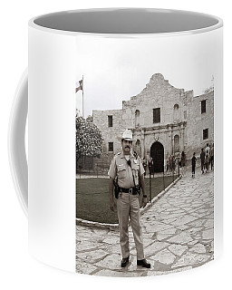 He Guards The Alamo Coffee Mug