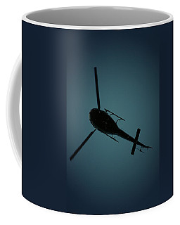 Helicopter Silhouette Coffee Mug