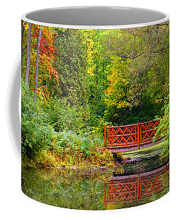 Henes Park Pond Bridge Coffee Mug