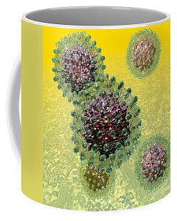Hepatitis B Virus Particles Coffee Mug