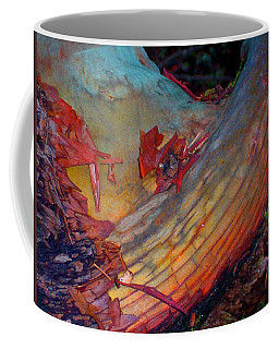 Coffee Mug featuring the digital art Here And Now by Richard Laeton