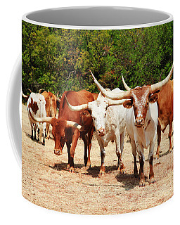 Some Long Horns Ya Got There Coffee Mug