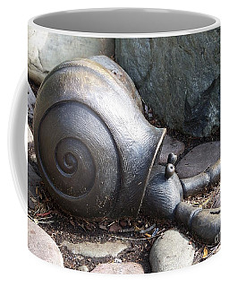 Coffee Mug featuring the photograph Hermit Crab by Chalet Roome-Rigdon