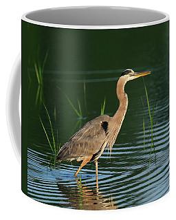 Heron Sunrise Coffee Mug