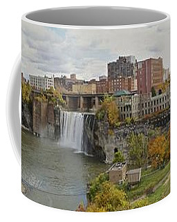 High Falls Panorama Coffee Mug