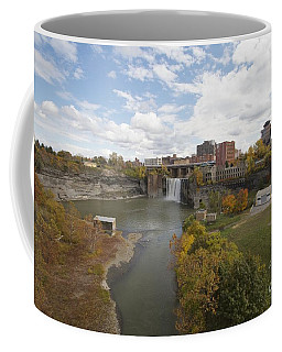 Coffee Mug featuring the photograph High Falls by William Norton