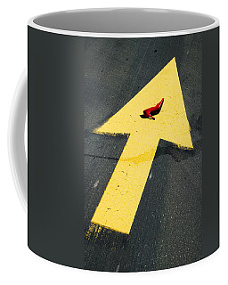 High Heel And Arrow Coffee Mug