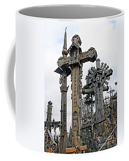 Hill Of Crosses 09. Lithuania Coffee Mug