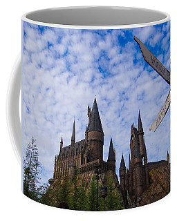 Coffee Mug featuring the photograph Hogwarts Castle by Julia Wilcox