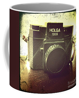 Coffee Mug featuring the photograph Holga by Nina Prommer